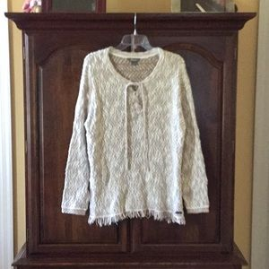 Natural Reflections sweater: Size Large